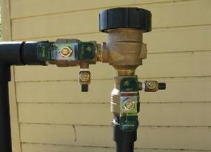 drinking water backflow prevention system