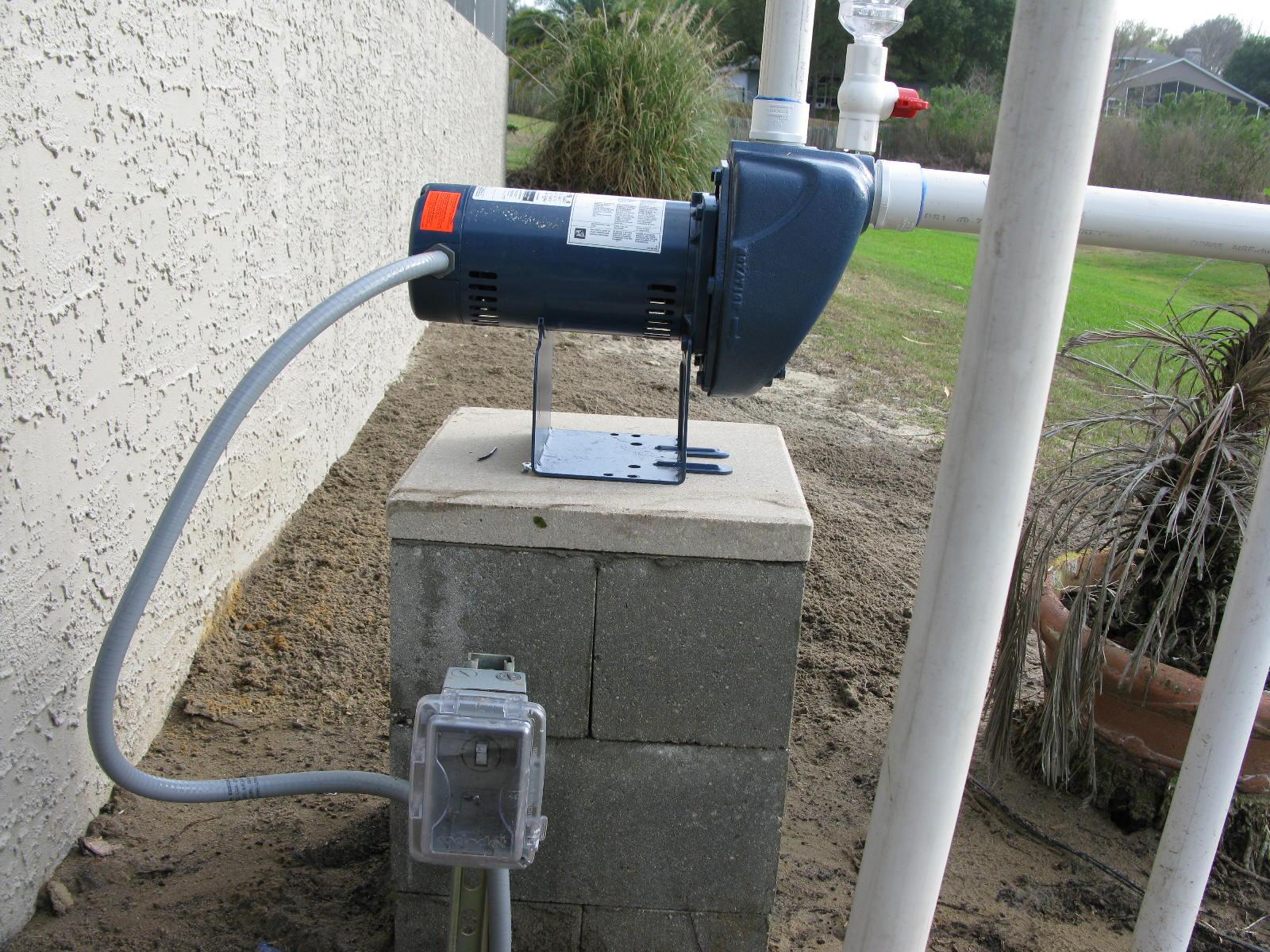 Lake Pump Installation For Irrigation Systems Orlando