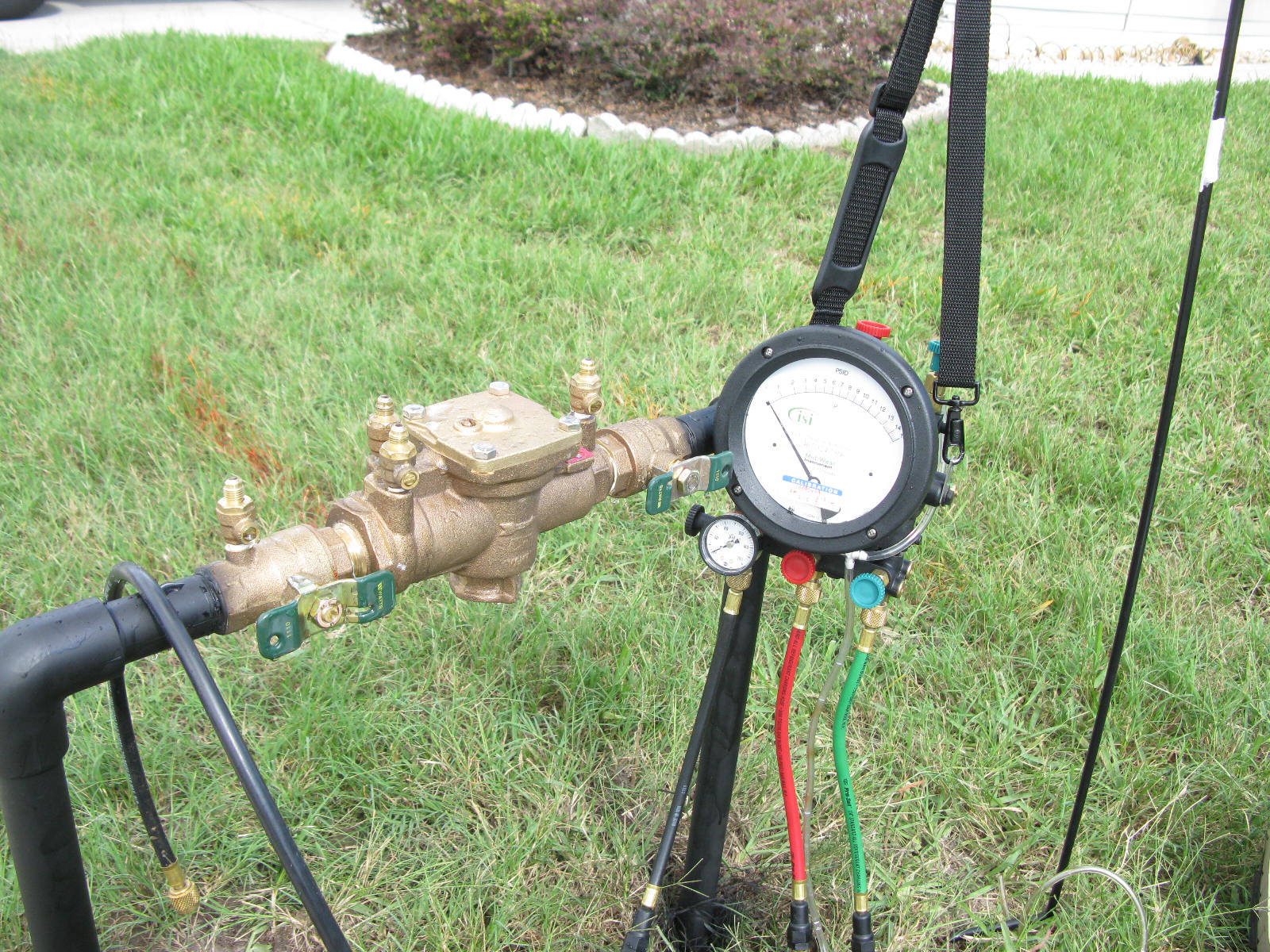 certified backflow test certified backflow testing for irrigation systems - Irrigation Systems