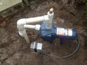 Irrigation Sprinkler Pump
