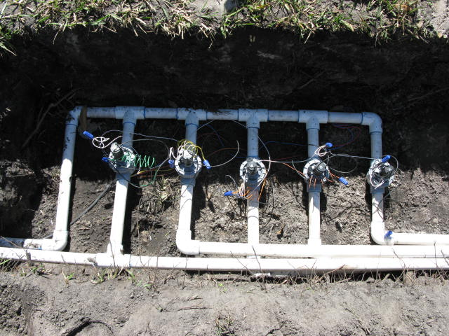 Replacing Sprinkler System Irrigation Valve Orlando | Orlando