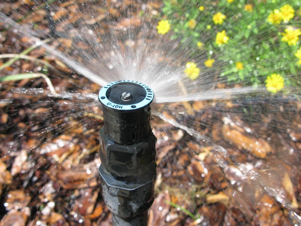 Rain Bird Undercut Nozzles Sprinkler Irrigation System