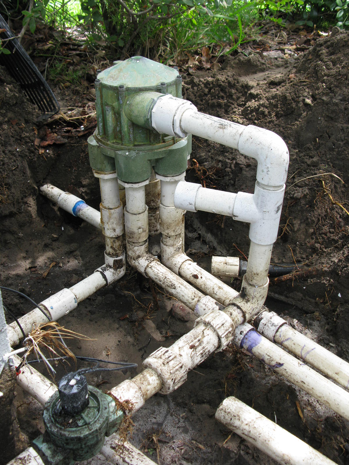 Irrigation indexing valve for sprinkler systems | Orlando