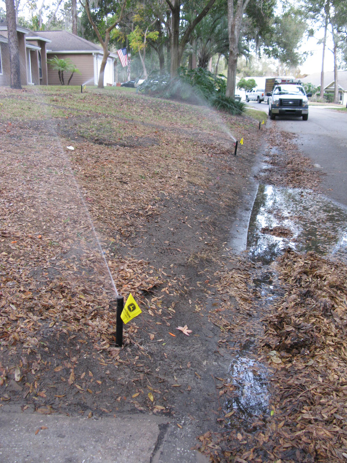 Irrigation System Rain Bird 5006 Rotors Orlando