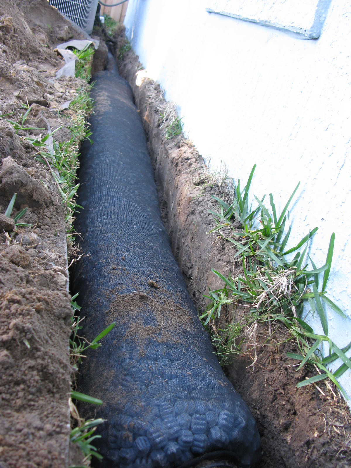 Nds Ez Flow French Drain Review Orlando Sprinklers And