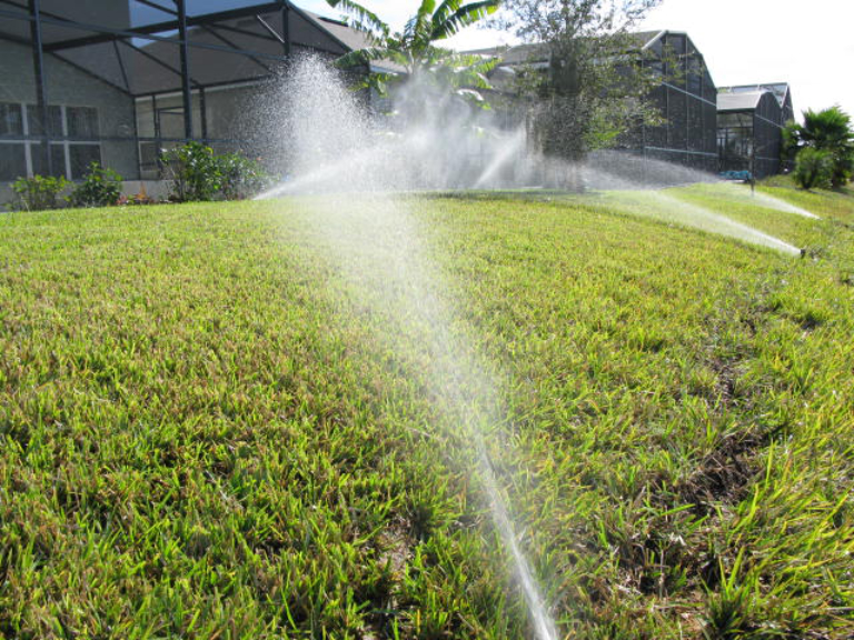 residential irrigation system redesign