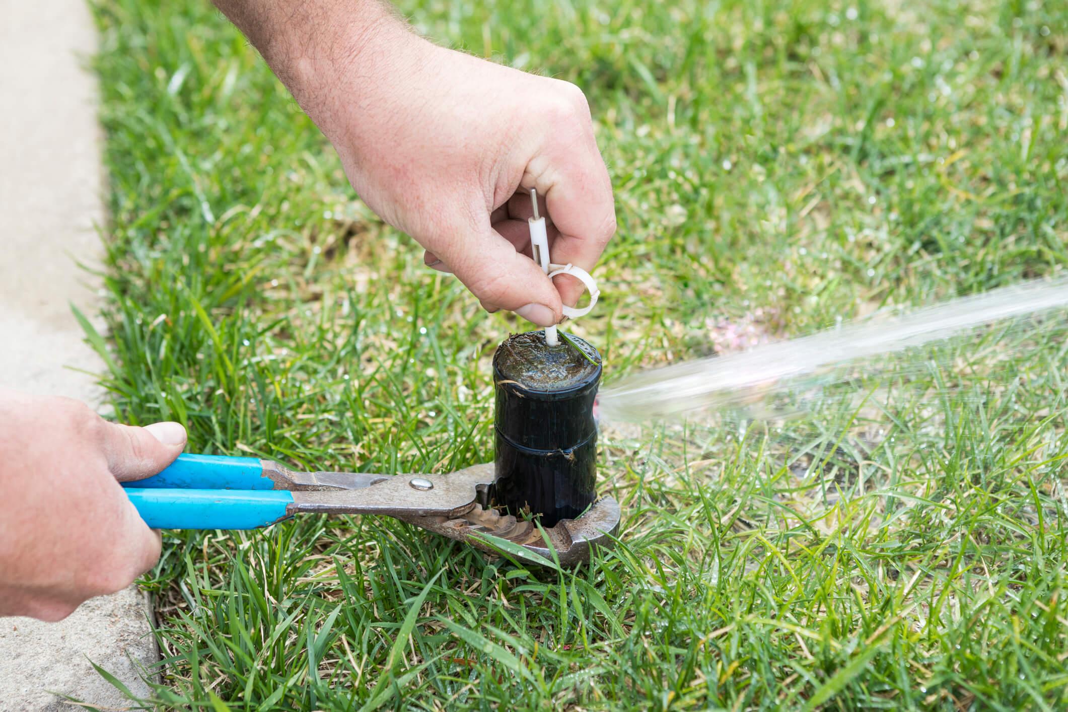 Common Summertime Sprinkler Repairs